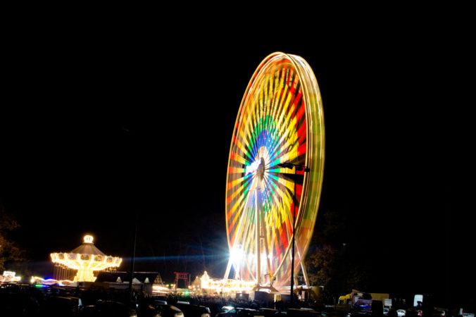 Riesenrad auf der Martinikirmes